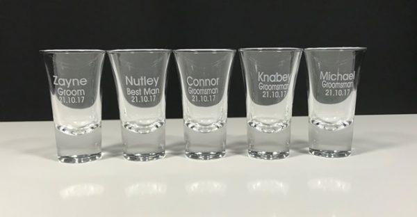 Double Nip Shot Glass