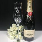 Crystal Stem Champagne Single