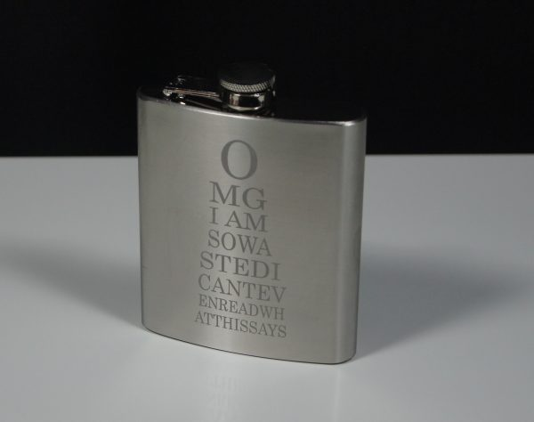 Stainless Steel Hipflask