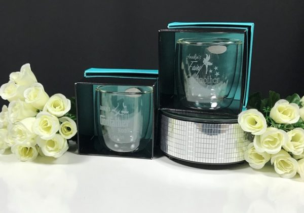 Double Walled Glass Coffee Cup