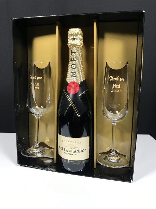 Champagne Pairs in Triple Gift Box