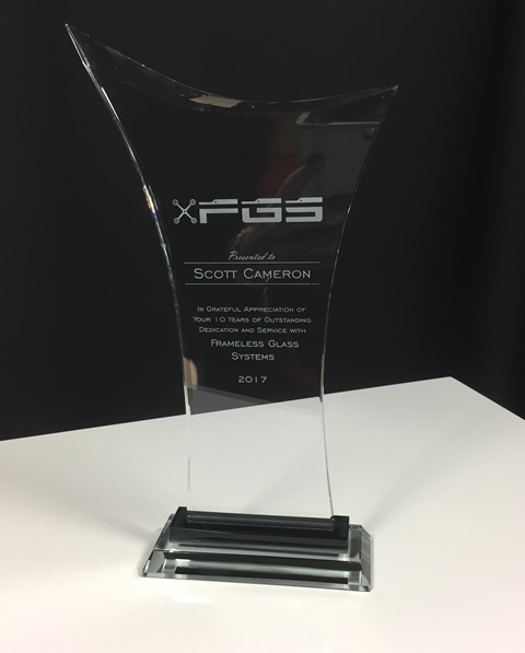 Victory Glass Award