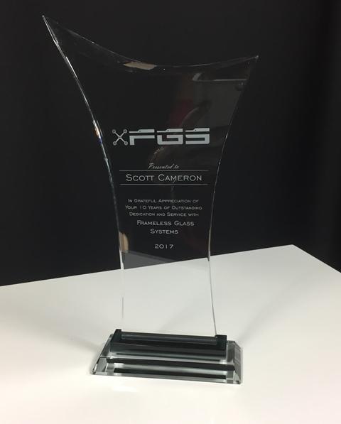 Victory Glass Award