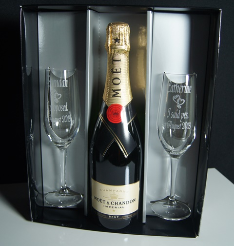 Champagne Pairs in Triple Wine Box