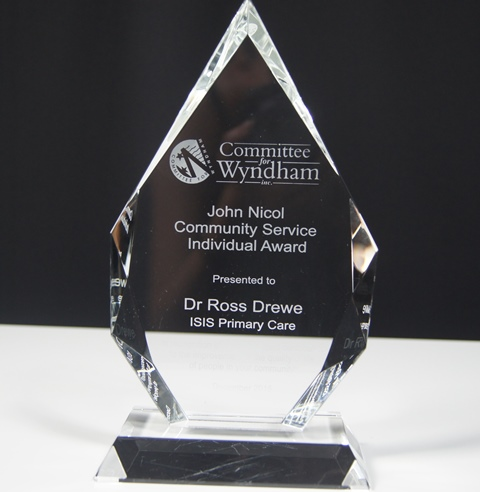 Royal Diamond Crystal Award