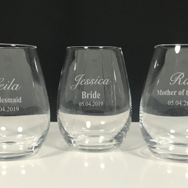 Stemless Wine Bridal