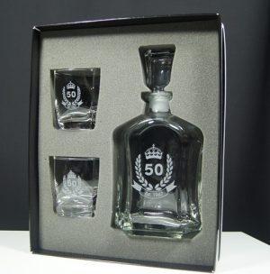 Decanter & Glass Set