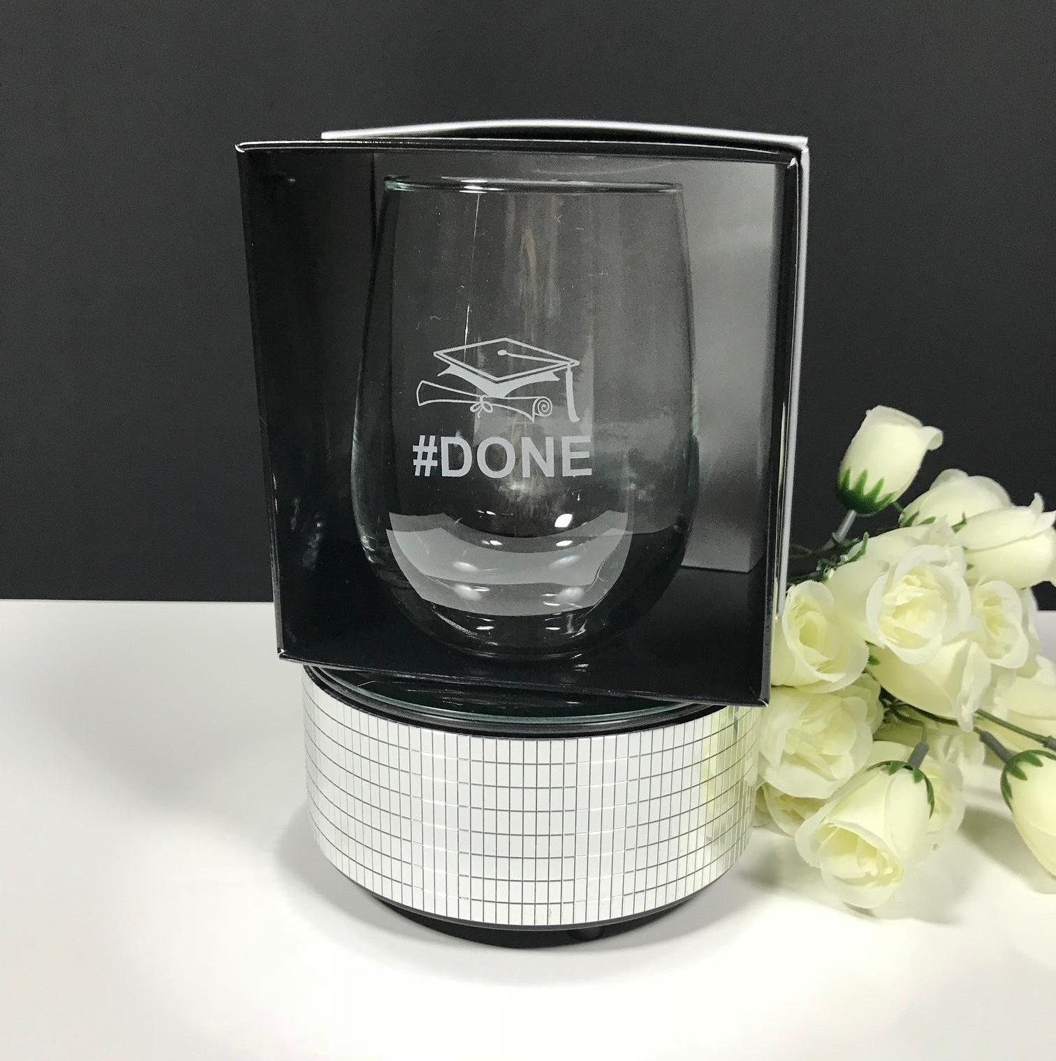 4a4fc1ea985 Stemless Wine Glass - Groovy Glass