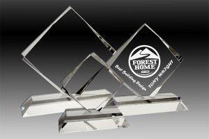 Crystal Square Diamond Award