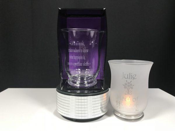 Small Hurricane Vase