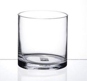 Small Squat Cylinder Vase