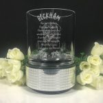 Personalised Small Squat Cylin